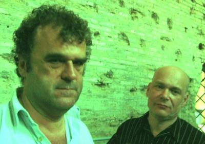 Pippo Delbono e Alexander Balanescu