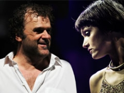 Pippo Delbono e Petra Magoni